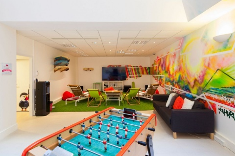 Creating a fun playroom for your employees