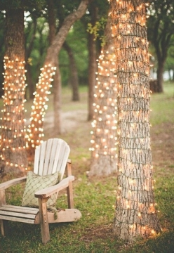 Subtle outdoor lighting options for a cozy garden