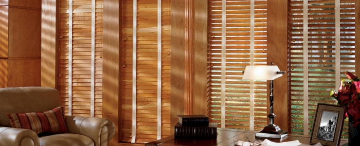 Wooden shutters – the next office project